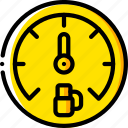 carparts, dashboard, gauge, motor, petrol, transportation, vehicle icon