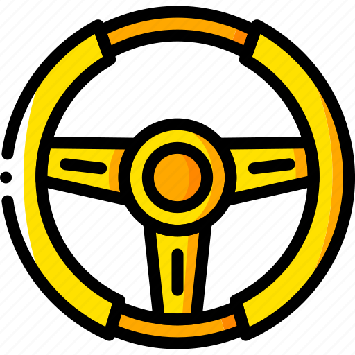 car, carparts, motor, steering, transportation, vehicle, wheel icon