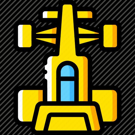 car, formula, motor, racing, top, transportation, vehicle icon
