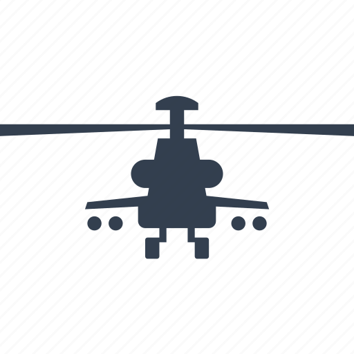 army, flying, front, helicopter, hunting, military, navy, transportation, war, weapon icon