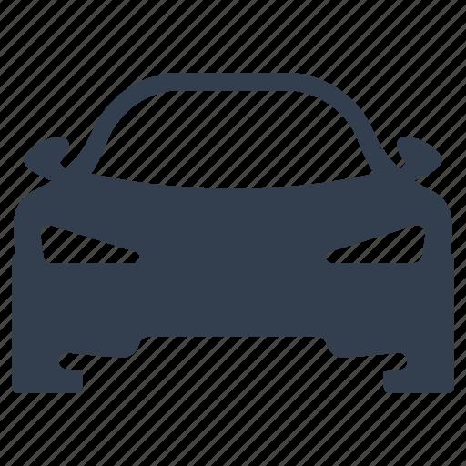 auto, automobile, front, racing, sedan, traffic, transportation, travel, vehicle icon