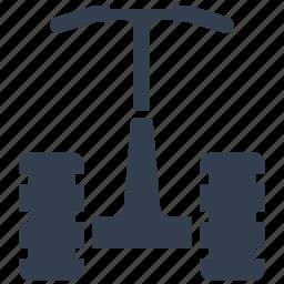 front, motor, self ballancing, transportation icon