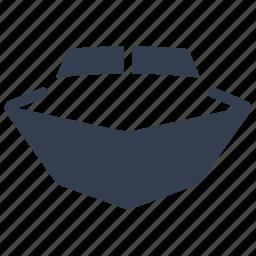 boat, cruise, front, marine, nautical, transportation, travel, yacht icon