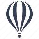 air, balloon, flying, front, hot air balloon, transportation icon