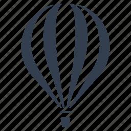 air, balloon, flying, front, hot air balloon, transportation icon