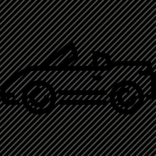 car, convertible, traffic, transportation, travel, vehicle icon