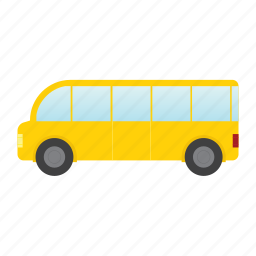 bus, delivery, traffic, transport, transportation, vehicle icon