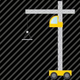 crane, lift, move, transport icon