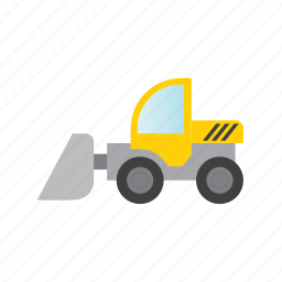 construct, constructer, excavator, traffic, transport, vehicle icon
