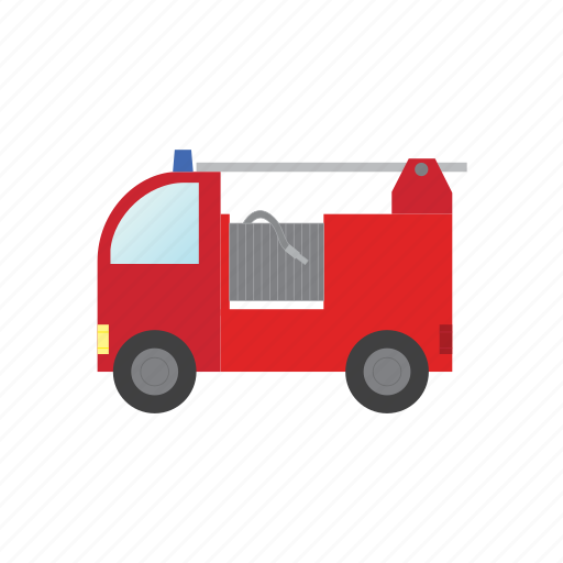 fire, transport, transportation, truck, vehicle icon