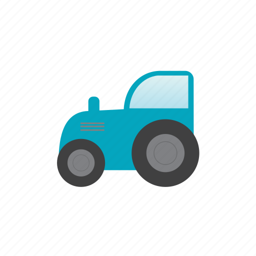 barn, tractor, transport, vehicle icon