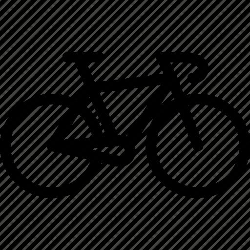 bike, road, transport, transportation, vehicle icon