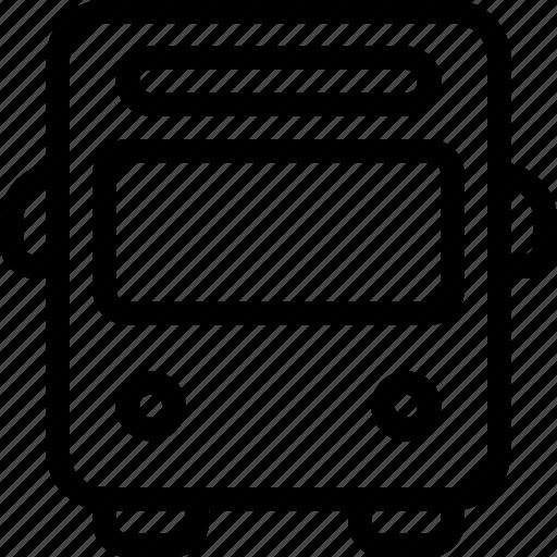 bus, road, transport, transportation, vehicle icon