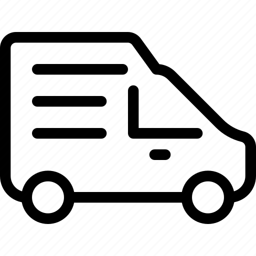 mini, transport, transportation, truck, vehicle icon