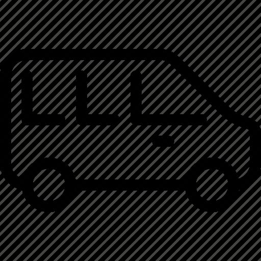 bus, mini, transport, transportation, vehicle icon