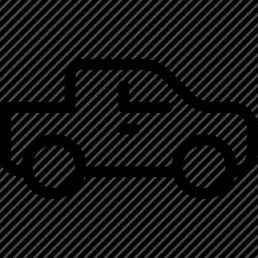 Pickup, road, transport, transportation, vehicle icon - Download on Iconfinder