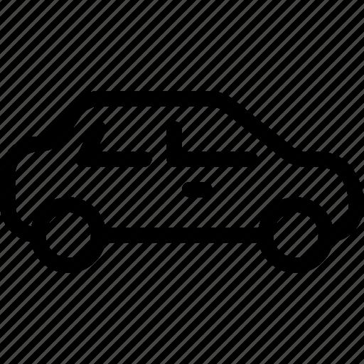 road, sedan, transport, transportation, vehicle icon
