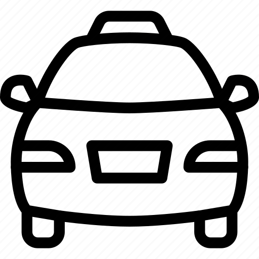road, taxi, transport, transportation, vehicle icon