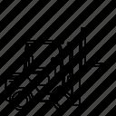 forklift, transportation icon