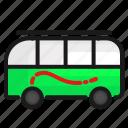 car, transport, transportation, travel bus icon