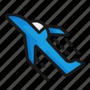 airplane, plane, transport, transportation icon