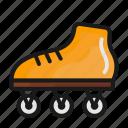 roller skate, transport, transportation icon