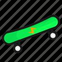 skateboard, transport, transportation icon