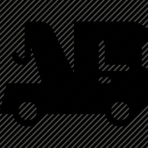 crain, transport, transportation, truck, vehicle icon