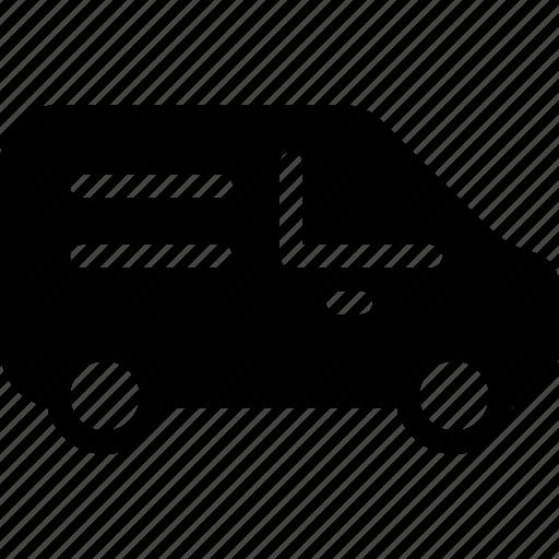 mini, transport, transportation, van, vehicle icon