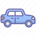 automobile, cab, car, hatchback, local transport, taxi, vehicle icon
