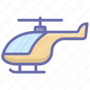 aircraft, chopper helicopter, copter, helicopter, rotorcraft icon