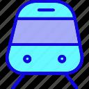locomotive, metro, railway, subway, train, transport, transportation icon