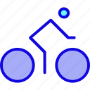 bicycle, bike, cycle, cycling, sport, transport, transportation icon