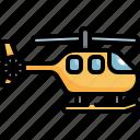 copter, emergency, helicopter, transport, transportation