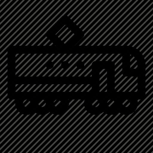 Pantograph, railroad, railway, train, transportation, vehicle icon - Download on Iconfinder