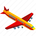 aeroplane, aircraft, transport, transportation, travel, vehicle icon