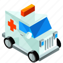 ambulance, emergency, healthcare, medical, transport, transportation, vehicle icon