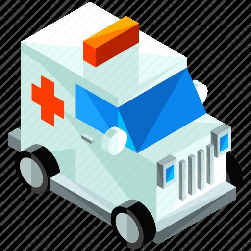ambulance, emergency, healthcare, medical, transport, transportation, vehicle icon
