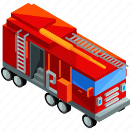 emergency, fire, firetruck, transport, transportation, vehicle icon