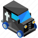 car, hearse, transport, transportation, vehicle icon