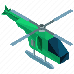chopper, helicopter, transport, transportation, travel, vehicle icon
