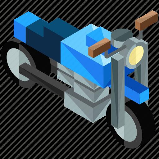 bike, motorbike, motorcycle, transport, transportation, vehicle icon