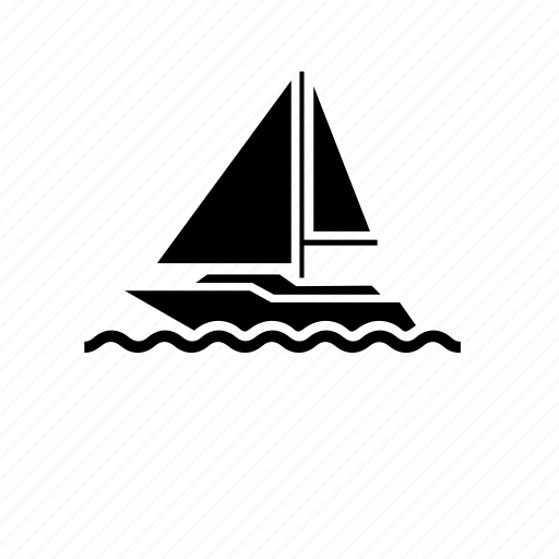 sail, sailboat, sailing, sailor, transportation, vehicles, watercraft icon