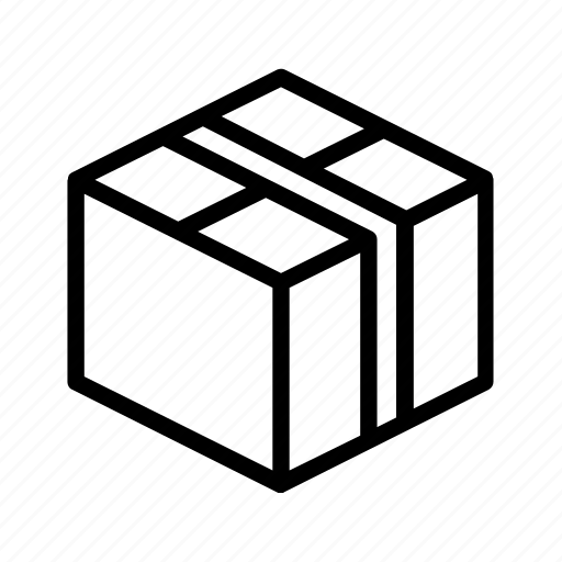box, closed, delivery, package, parcel, post icon
