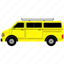 car, schppl van, transportation, van, vehicle icon