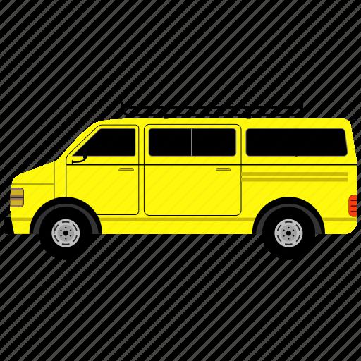 car, schppl van, transportation, van, vehicle icon