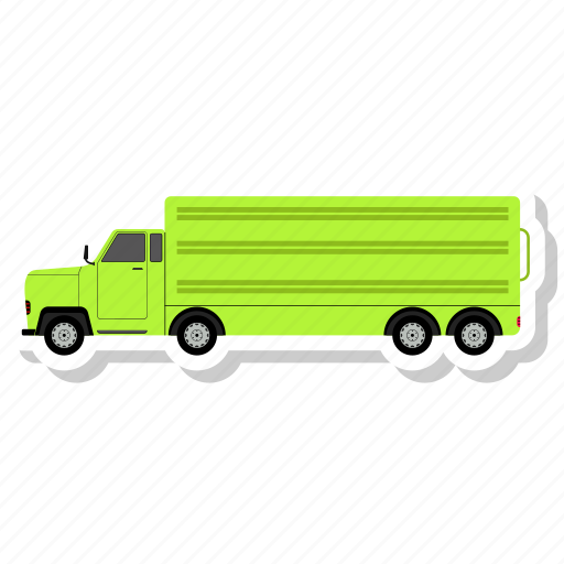 front, lorry, truck, vehicle icon