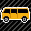 transportation, shipping, delivery, truck, van, transport