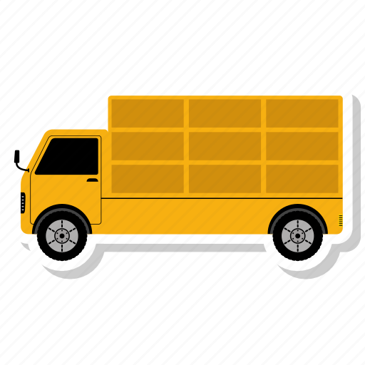 delivery, shipping, transport, transportation, truck, van icon