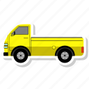 transport, transportation, truck, vehicle icon